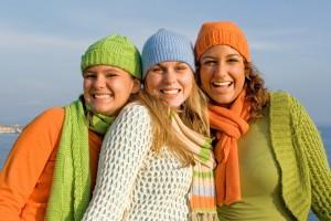 happy girl group
