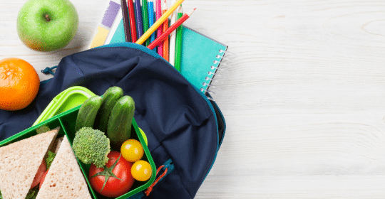 Smart School Lunches for Good Oral Health